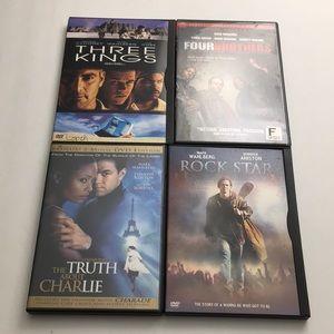 Mark Wahlberg DVD Movie Bundle